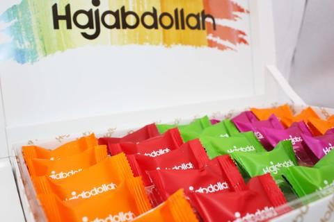 """Пишмание со вкусом апельсина, дыни и клубники во фруктовой глазури """"Акварель"""", Hajabdollah, 300 г"""