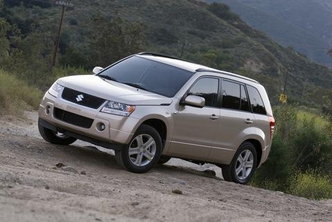 Защита фар для Suzuki Grand Vitara 2005-2014 прозрачная, 2 части, EGR (238090)