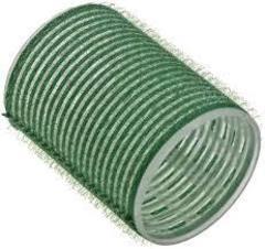 бигуди на липучке 48мм зеленые,  6шт sibel