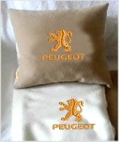 Плед в чехле с логотипом Peugeot