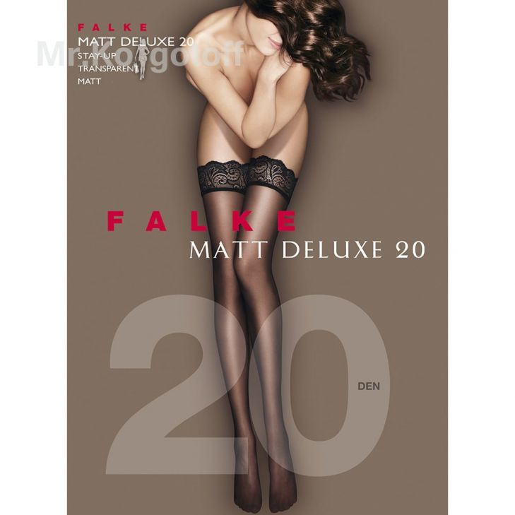 Чулки Falke Matt Deluxe 20 Stay-up