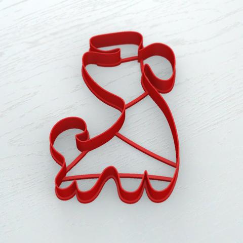 Собачка форма для пряника