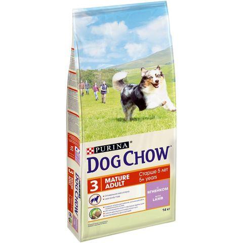 Dog Chow Mature Adult с ягненком 14 кг
