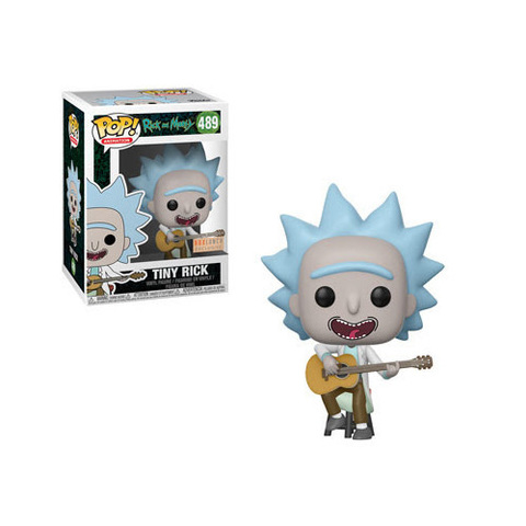 Фигурка Funko POP! Vinyl: Rick & Morty: Tiny Rick w/ Guitar 34215