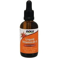 Now Liquid Vitamin D-3 (60 мл.)
