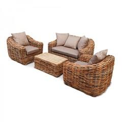 Комплект мебели из натурального ротанга Kvimol KM-2001