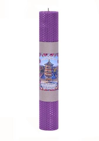 Свеча Императорский дворец фиолетовая