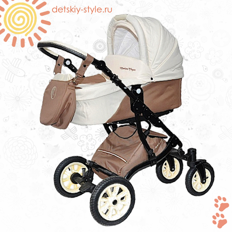 """Коляска Stroller B&E """"Maxima Vegas"""" 2в1 (Поворотные Колеса)"""