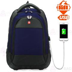 Рюкзак SWISSGEAR 2016 USB Темно-синий