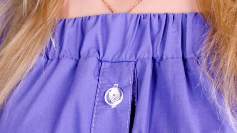 Клариса. Стильна сукня-сорочка великих розмірів. Бузок.
