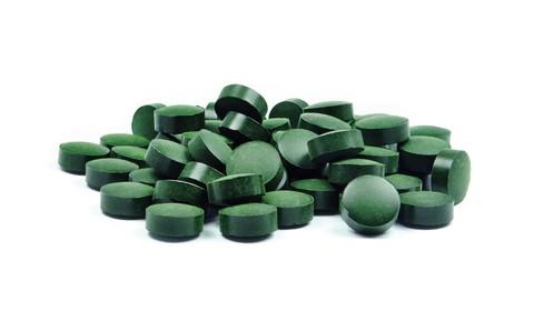 Хлорелла, таблетки, органика, 100 гр