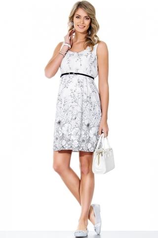 Платье 05548 белый