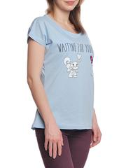 37662-11-3 футболка женская, голубая