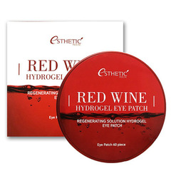 Esthetic House Red Wine Hydrogel Eye Patch - Гидрогелевые патчи с экстрактом красного вина