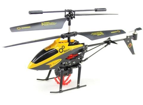 Радиоуправляемый вертолет с механической лебедкой WL toys V388
