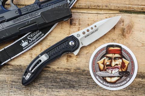 Складной нож Carajas by Flavio Ikoma 5340 с серрейтором