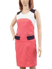 K288-1 платье женское, розовое