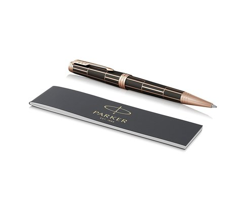 Parker Premier - Luxury Brown PGT, шариковая ручка, M, BL
