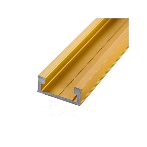 Профиль-шина 30,4 мм, анод, золото матовое, 2 м