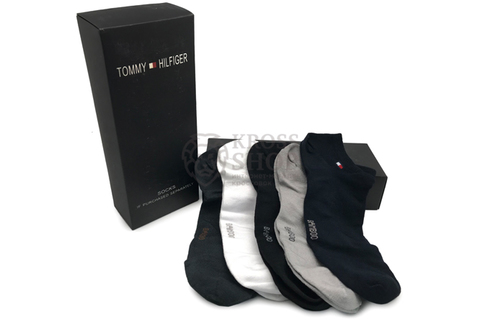 Носки Tommy Hilfiger White/Gray/Black