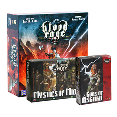 Blood Rage / Кровь и ярость + 2 дополнения