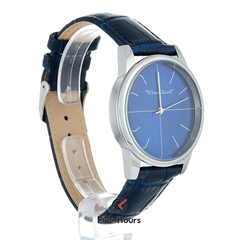 TIME CHAIN dalston leather blue 70002/b