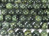 Нить бусин из яшмы Kambaba, шар гладкий 12мм