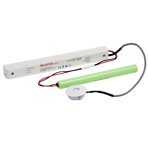 Компактный круглый встраиваемый аварийный светильник PL CL 1.2 – общий вид