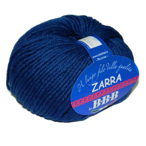 Пряжа BBB Filati Zarra 9509 темно-синий