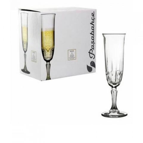 Набор бокалов для шампанского Pasabahce Karat 160 мл 6 пр (440146)
