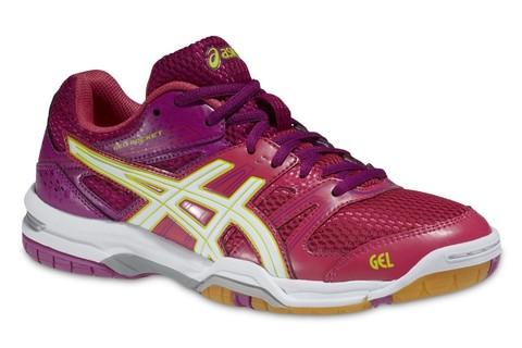 Asics Gel-Rocket 7 Кроссовки волейбольные женские pink (2501)