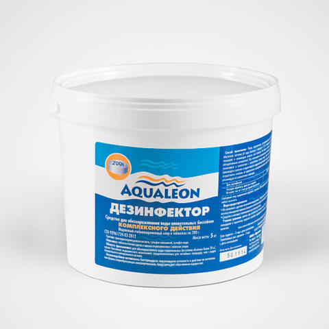 Aqualeon Дезинфектор МСХ КД (в таблетках 200 г) 5 кг