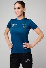 Элитная женская футболка Nordski Sport Navy RUS