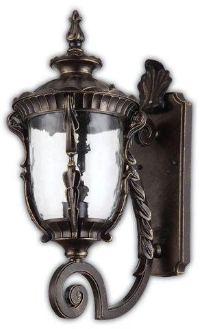 Светильник садово-парковый, 60W 220V E27 Темно-коричневое золото , IP44 , PL5001 (Feron)