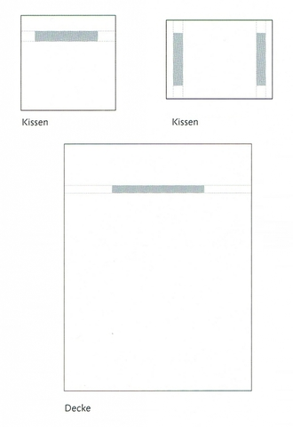 Пододеяльник 180х200 Christian Fischbacher Luxury Nights Alpaufzug 566