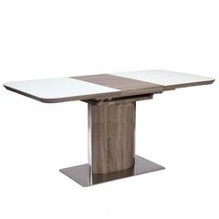 Стол обеденный AVANTI CAMPO (120) CAMEL/SUPER WHITE (кэмел/белый)
