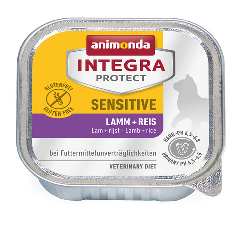 Animonda Integra Protect Cat (ламистер) Sensitive Lamb & Rice