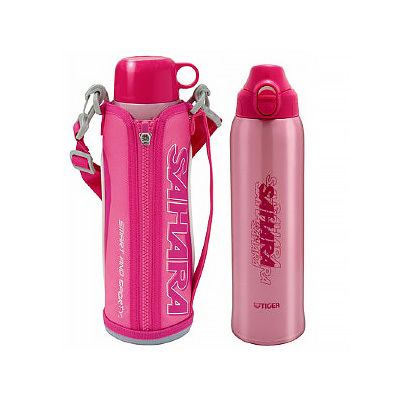 Термос Tiger MMN-W0100 (1 литр) розовый
