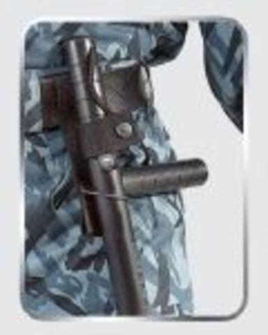 Крепление для палки из резинозаменяющего пластика ПУС-2 с боковой ручкой