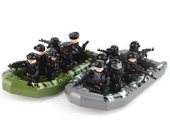 Минифигурки Военных Армейская лодка