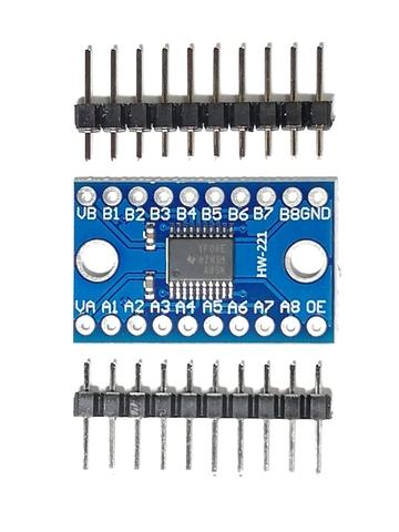 Преобразователь логических уровней 3.3В-5В TXS0108E (8 каналов)