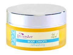 """Натуральный крем для тела """"Освежающий"""", Lavender"""