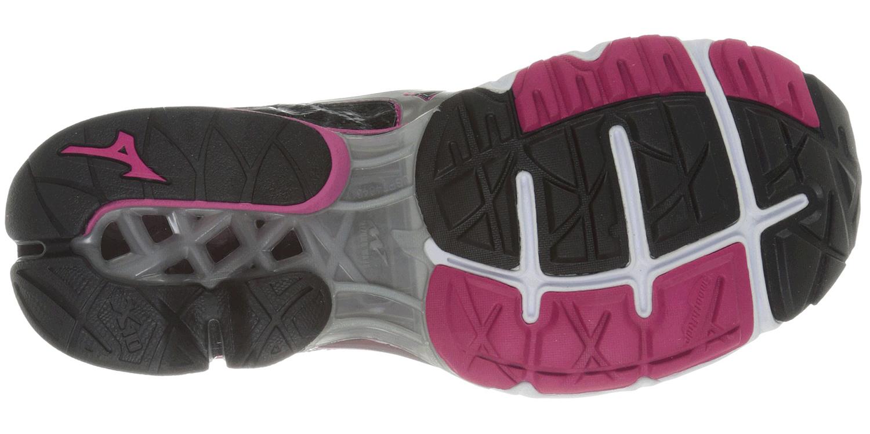 Женские кроссовки для бега Mizuno Wave Creation 16 (J1GD1501 03) черные подошва