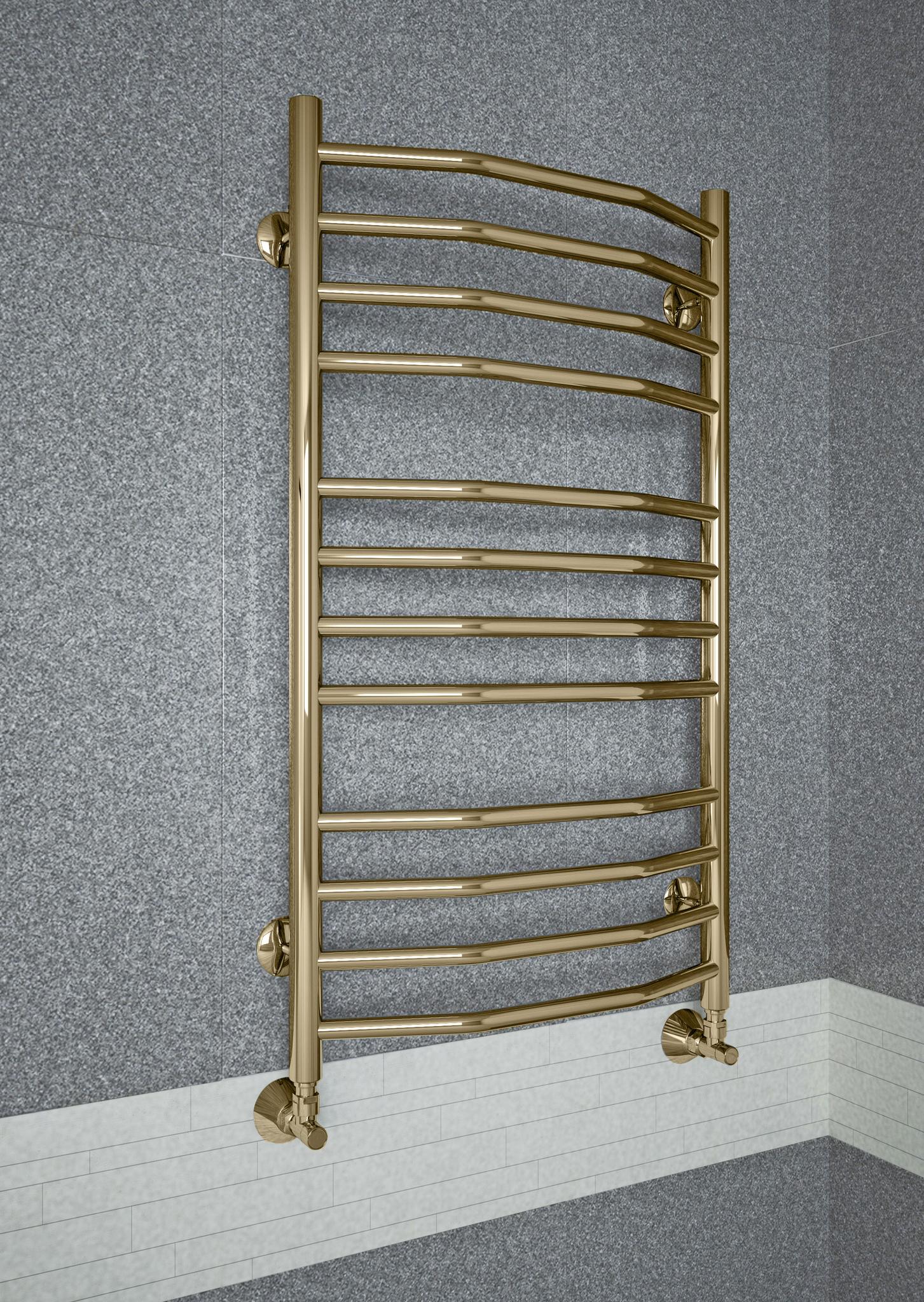 Victoria Bronze - бронзовый полотенцесушитель.Бронза