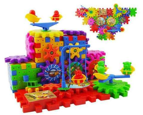 Детский развивающий Конструктор Фанни Брикс (Funny Bricks) для ваши...