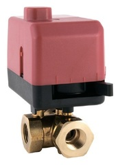 Клапан 3-ходовой шаровый Schneider Electric VB310R-15BS 0.86T 00