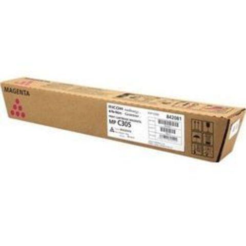 Тонер-картридж тип MPC305E пурпурный для Ricoh Aficio MPC305SP/SPF. Ресурс 4000стр. (842081)
