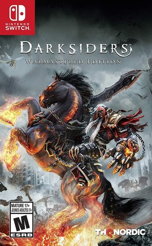 Nintendo Switch Darksiders Warmastered Edition (русская версия)