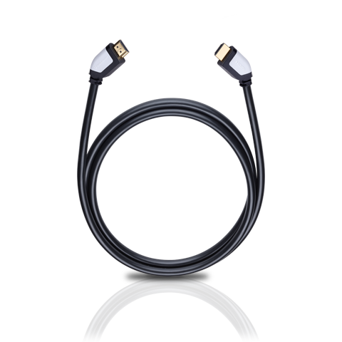 Oehlbach Shape Magic-HS HDMI, black 7.5m, HDMI кабель (#42457)