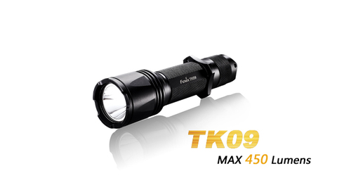 Фонарь Fenix TK09 (XP-G2 R5, 450 лм, 18650/CR123)